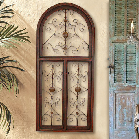 Tuscan Window Wall Grille