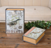 Book Storage Boxes, Bird Storage Boxes