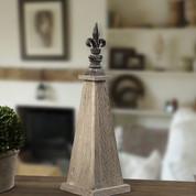 Fleur De Lis Finial, Fleur De Lis Statue, Tuscan Finial Statue