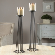 Tuscan Candleholders