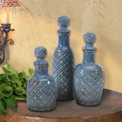 Tuscan Bottles, European Style Vases Bottles