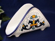 Deruta Napkin Holder, Deruta Ricco Napkin Holder