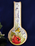 Tuscan Spoon Rest, Butterfly Spoon Rest