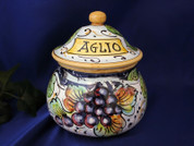 Garlic Pot, Italian Garlic Jar