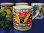 Italian Ceramic Coffee Mug