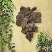Tuscan Grapes Wall Plaque