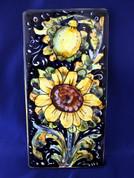 Italian Wall Tile, Tuscan Sunflower Wall Tile, Tuscany Wall Tile, Italian First Stone