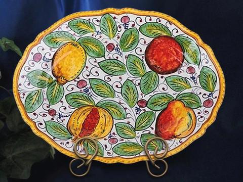 Tuscany Lemons Serving Platter