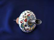 Italian Ceramic Pouring Cork Deruta, Olive Oil Ceramic Pouring Cork, Italian Ceramic Wine Cork Stopper