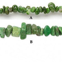 "16"" Strand Apple Green Chalk Turquoise Small Chip Beads"