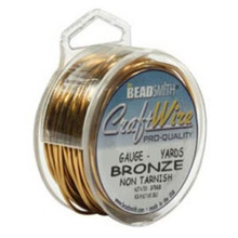 10 yard Spool Tarnish Resistant Bronze Wire ~  Wrapping  ~ 20 Gauge