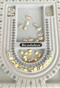 "1 Beading Board to Make Designing Jewelry Easy ~ Create up to a 34"" Necklace"