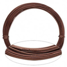 45 Feet Brown Aluminum Wire for Wire Wrapping ~ 20 gauge *