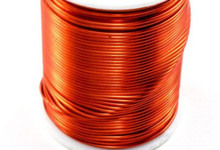 15 Yards Colour Craft ORANGE Tarnish Resistant Wrapping Wire ~ 20 Gauge  *