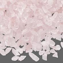 50 Grams Rose Quartz Natural Mini Hand Cut UNDRILLED Chips ~ Embellishment