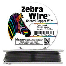 15 Yard Spool  Black Color Coated Copper Wrapping Wire ~ 20 Gauge