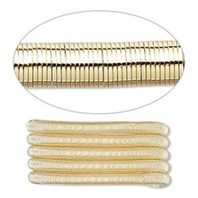 1 Strand Gold Plated Copper Extra Heavy 2.5mm Spiral Tube French  Wire ~ Approximately 25 Feet