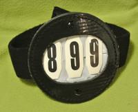 Bridle/Saddle Number Holder with Number Pocket