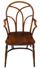 19th Century ash, beech & elm Windsor chair