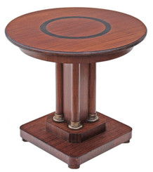Victorian mahogany centre table pedestal