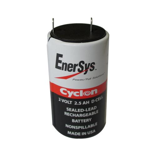 0810 0004 Enersys Cyclon Battery 2v 2 5ah D Cell