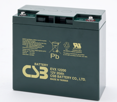 EVX12200 CSB Battery - 12 Volt 20.0AH