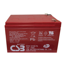 CSB EVH 12150 F2 - EVH12150 SLA AGM Battery - 12 Volt 15.0AH