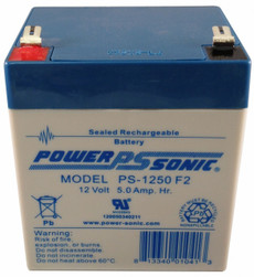 Power-sonic PS-1250 F2 Battery - 12V 5.0Ah SLA