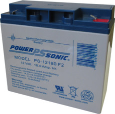 Power-sonic PS-12180 F2 Battery - 12 Volt 18.0 Amp Hour
