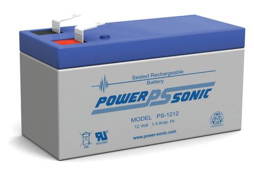 Power-sonic PS-1212 Battery - 12 Volt 1.4 Amp Hour