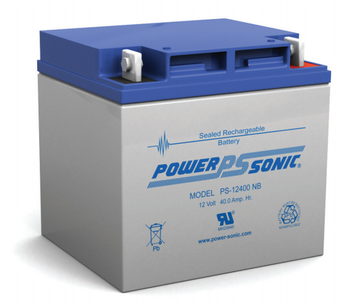 Power Sonic Ps 12400 Nb Battery 12 Volt 40 0 Amp Hour