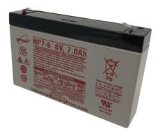 Genesis NP7-6 Battery - 6V 7.0 AH by Enersys, Yuasa