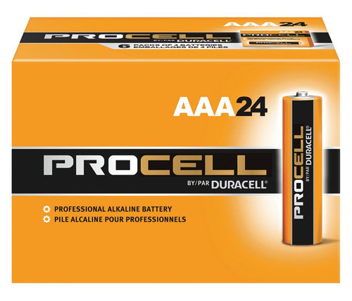 Duracell Procell AAA Batteries - PC2400 (24 Pack)