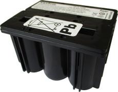 Enersys Hawker Cyclon 0819-0020 Battery - 12 Volt 2.5AH 2x3 D Monobloc