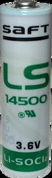 LS14500 Saft 3.6V AA Lithium Battery - LS14500BA 3.6 Volt 2600mAh