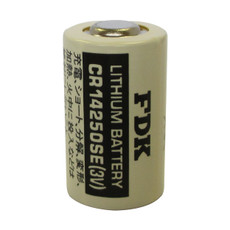 FDK CR14250SE 3V Lithium Battery - 3 Volt 850mAh 1/2 AA