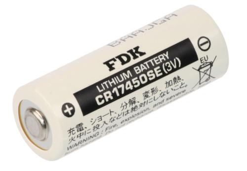 FDK CR17450SE 3V Lithium Battery - 3 Volt 2500mAh