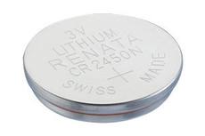 Renata CR2450N Battery - 3 Volt 540mAh Lithium Coin Cell -BULK
