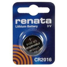 Renata CR2016 Battery - 3 Volt 90mAh Lithium Coin Cell