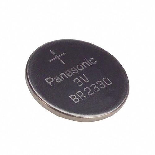 Panasonic BR2330 Battery - 3 Volt 255mAh Lithium Coin Cell