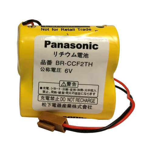 Panasonic BR-CCF2TH Battery-Cutler Hammer, GE Fanuc A06 PLC