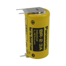 Panasonic BR-2/3AE2SP Battery - 3V Lithium with 3 Pins
