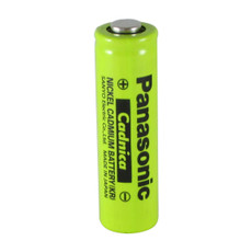 Panasonic N-600AAK Battery - AA NiCd 1.2 Volt 600mAh Button Top