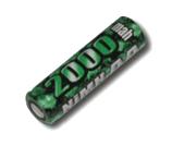 Elite 1700 Battery - High Rate Flat Top 2000mAh AA NiMH