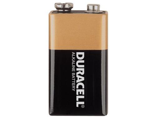 Duracell 9 Volt Alkaline Battery Mn1604 Coppertop