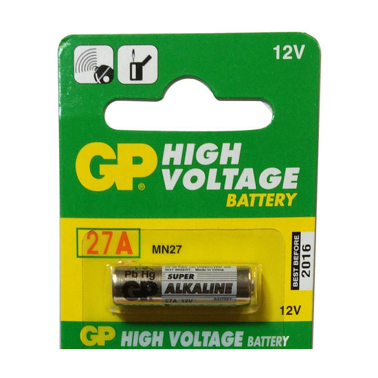 Gp 27a Gp27a 12v Battery High Voltage
