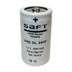 VRE DL - 417990-101 Saft Battery - 1.2V 5500mah D NiCd Low Profile Button