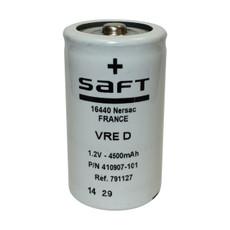 VRE D - 410907-101 Saft Battery - 1.2V 4500mAh D Cell NiCd