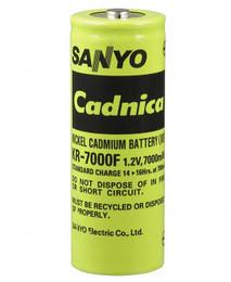 Panasonic KR-7000F F Cell Battery - 1.2 Volt 7000mAh NiCd High Temp
