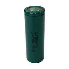FDK HR-AUX A Cell NiMH Battery - 1.2V 2700mAh Flat Top